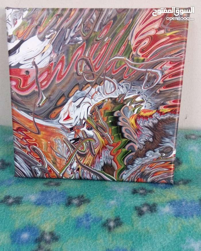 acrylic painting (3x)