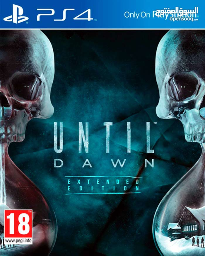 Until Dawn + PES 17  للبيع او البدل