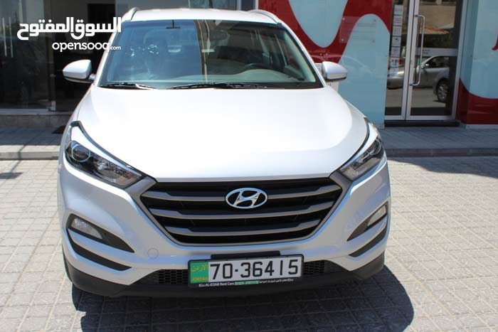 Automatic Silver Hyundai 2017 for rent