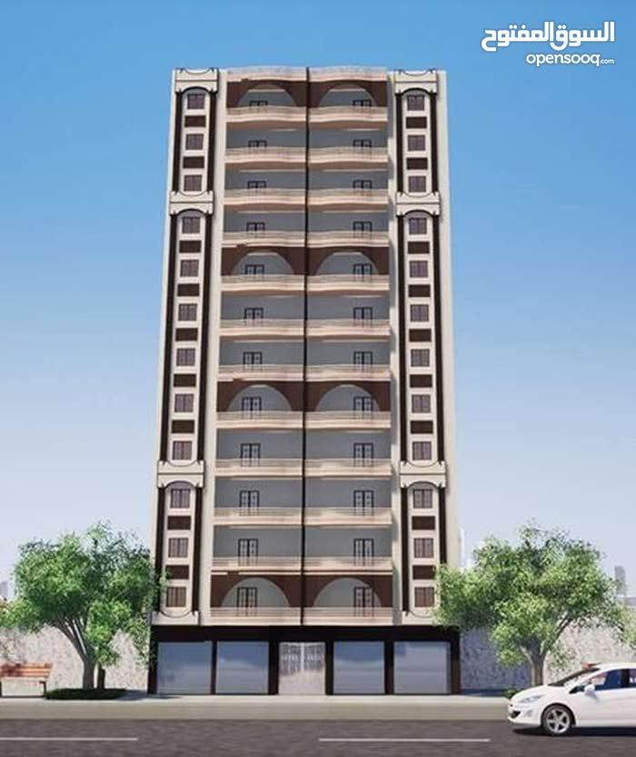 شقة 110م ببرج جديد تحت الانشاء آخر حجز (للبيع)