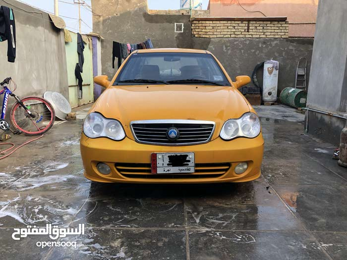 Manual Orange Geely 2013 for sale