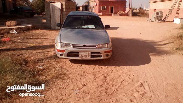 For sale 1994 Silver Corolla