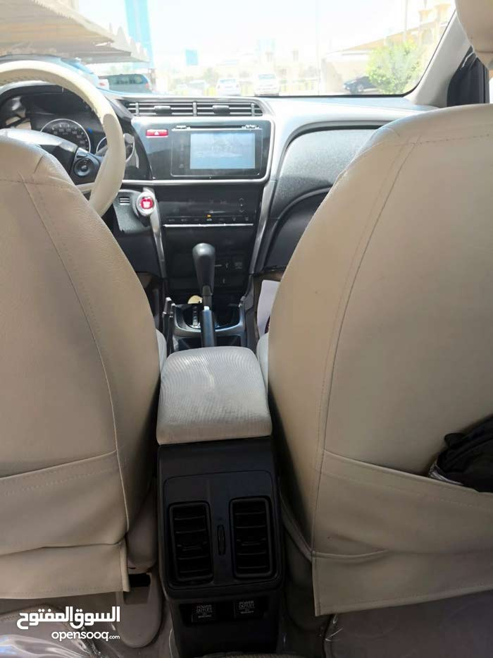 Honda City – Full Option – Pearl White Color  for Sale