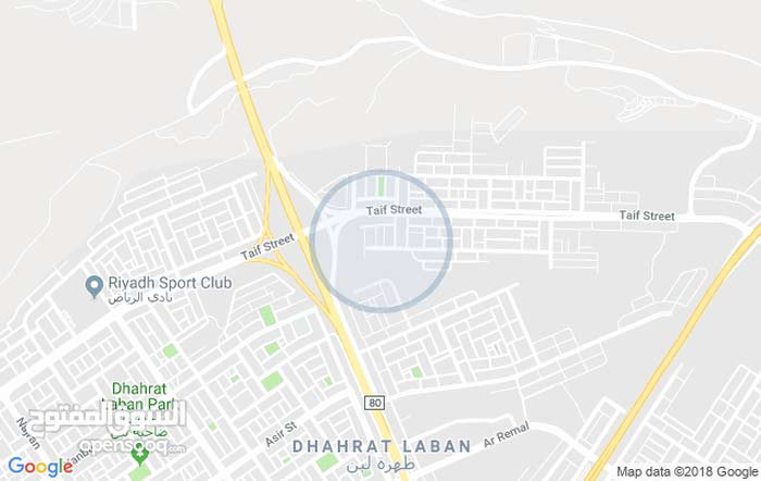 First Floor  apartment for rent with 3 rooms - Al Riyadh city Dhahrat Laban