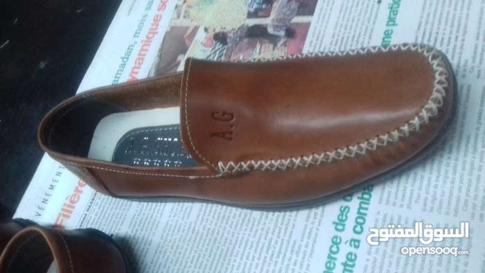 أحذية رجالي جلد صناعة مغربية