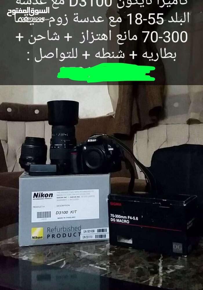 كاميرت نيكون مستعمله نضيفه