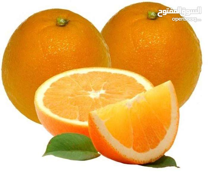 يتوفر لدينا برتقال صيفي مصري ممتاز