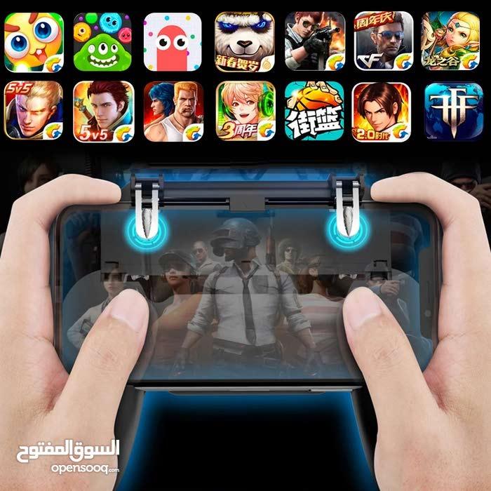 يد تحكم الألعاب الموبايل و تعمل على لعبة PUBG