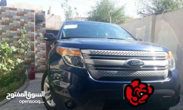 Ford Explorer 2012 For sale - Blue color