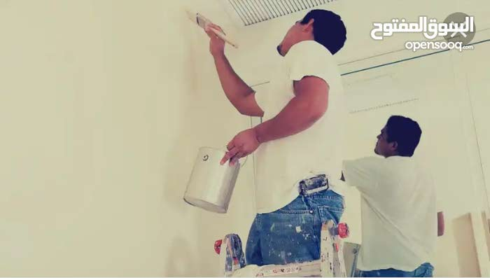 العمل المتقن لصيانة المنازل دهانات ديكورات ومعالجة جميع التشققات الرطوبة والعفن