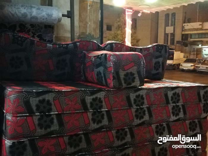 جلسه عربيه اسفنج ضغط عالي 14سم صافي  تفصيل  مجلس عربي حسب الطلب جميع الإسفنج استاندر