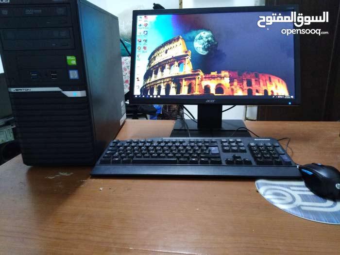 كمبيوتر مكتبي ماركة ايسر