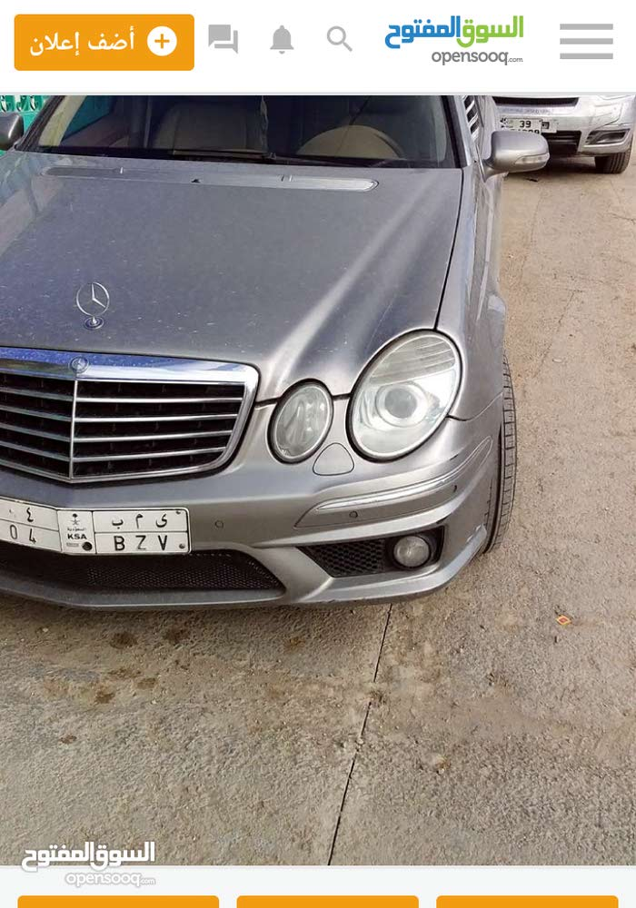 Mercedes Benz E 200 2001 For sale - Black color