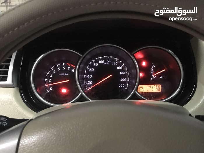 White Nissan Tiida 2012 for sale