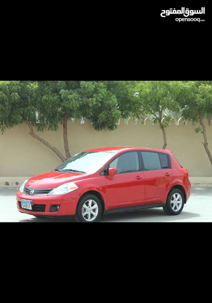 Nissan Versa 2012 For sale - Red color