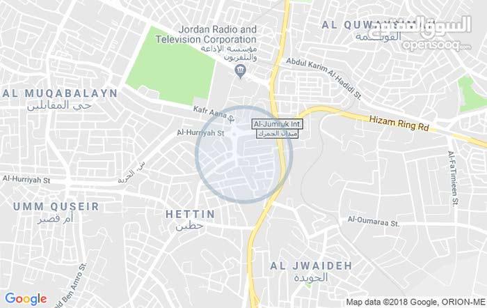 عمان _خلف الإذاعة والتلفزيون _حي الحويان _بالقرب من مسجد خلف الحديد