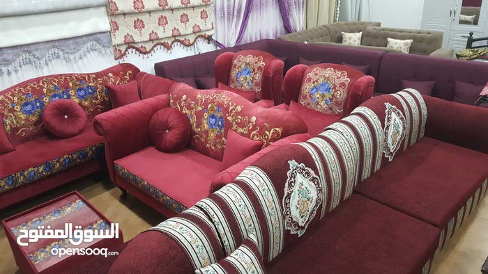 Sofa Furniture and curtains everything available