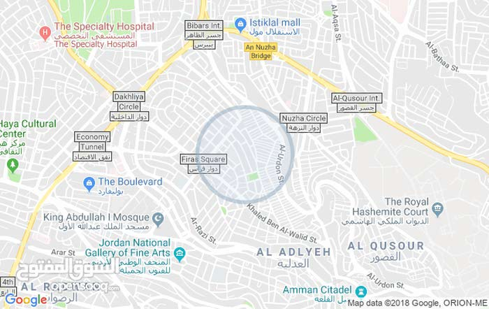 Jabal Al Hussain apartment for rent with 2 rooms