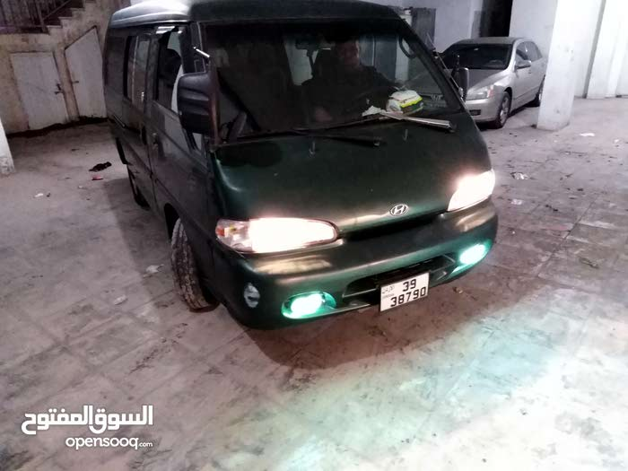Manual Green Hyundai 1998 for sale
