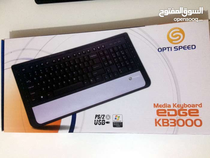 USB PS/2 PC Media Keyboard
