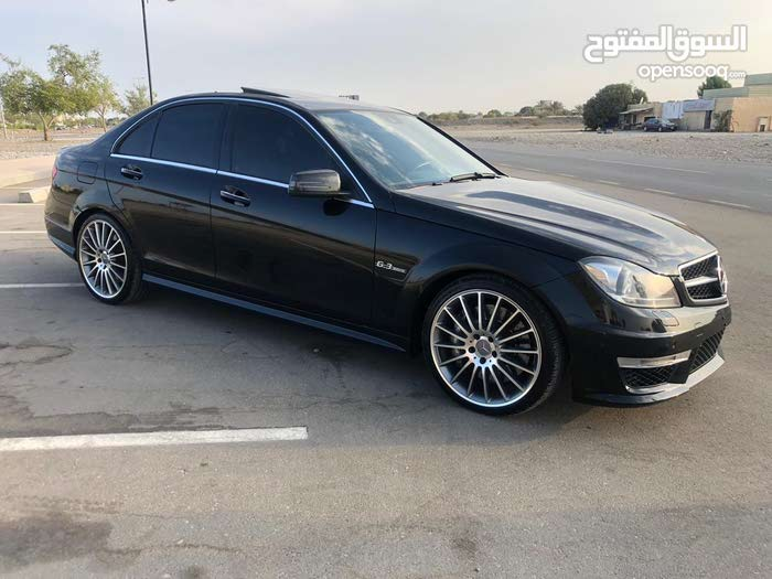 Used condition Mercedes Benz C63 AMG 2014 with  km mileage