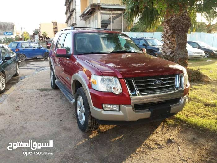 Automatic Red Ford 2006 for sale