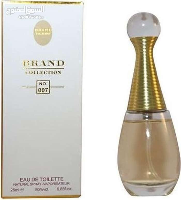 عطور جني وبراند الأصلية25 مل للبيع بنفس رائحة العطر الأصلي
