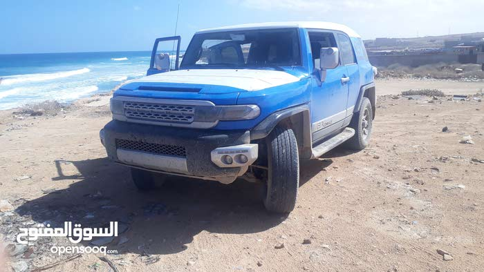 Toyota FJ Cruiser 2007 For sale - Blue color