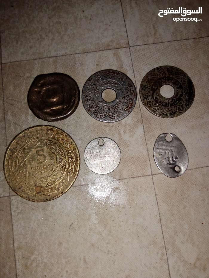 بيع النقود القديمة المغربية مابين 1365