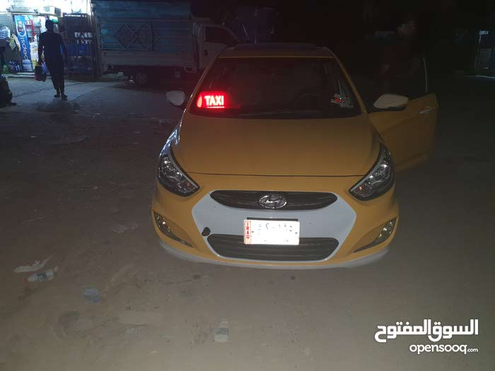 Automatic Orange Hyundai 2016 for sale