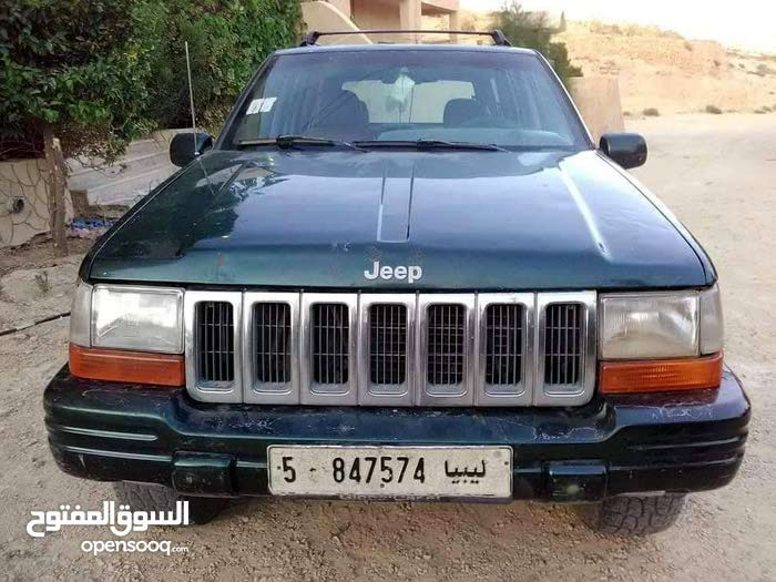 Jeep Grand Cherokee 1998 For sale - Green color