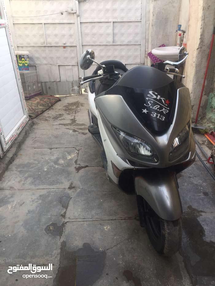 Used Honda motorbike in Baghdad