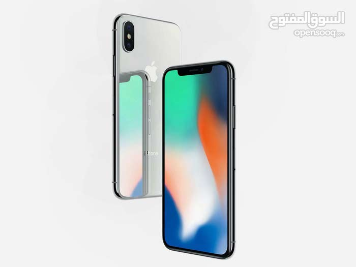 Iphone X 256GB مصكر على شفرة مكرشم