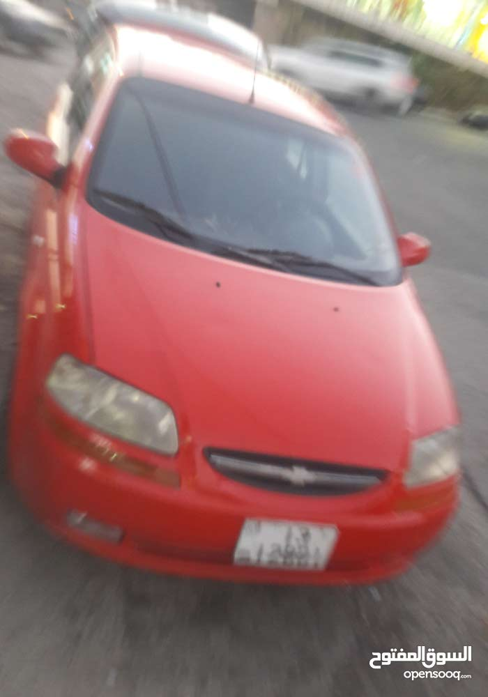Chevrolet Aveo 2006 For sale - Red color