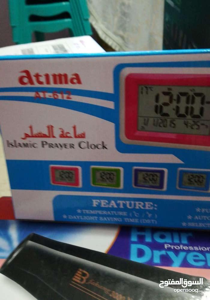 ساعة الكترونية (جديد) نوع atima
