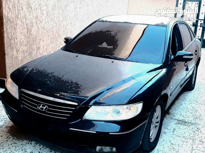 Hyundai Azera 2009 For sale - Black color