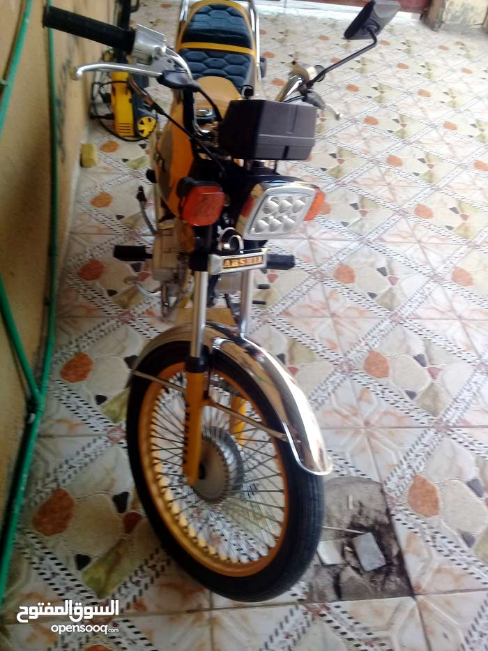 New Honda motorbike up for sale in Basra