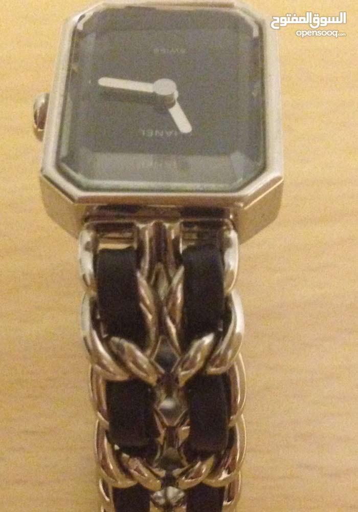 Black & silver watch