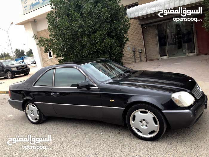 Black Mercedes Benz Cl 500 1995 For Sale 105214366 Opensooq