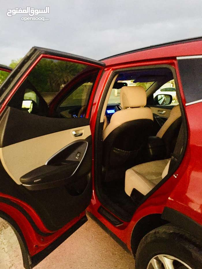 Red Hyundai Santa Fe 2013 for sale