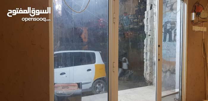باب زجاج المنيوم