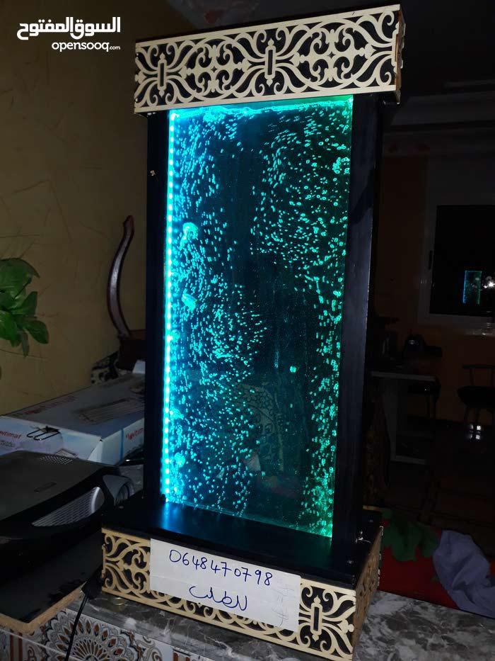 fontaines du lux  (bulle d air lumineuse avec led RGB )avec telecomande )