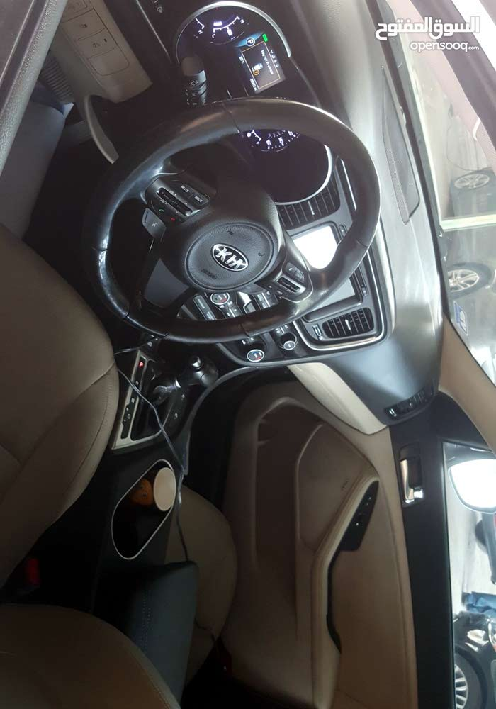 Beige Kia Optima 2014 for sale