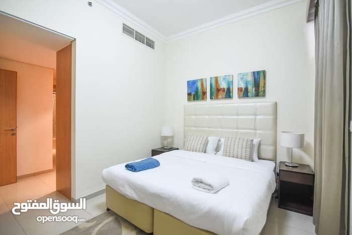 دبي البرشاء جنوب غرفة وصالة مفروشة سوبر لوكس - ايجار شهري شامل