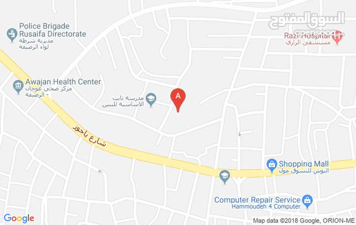 شقة للبيع - إسكان الامير طلال (الرصيفة) بجانب طريق ياجوز