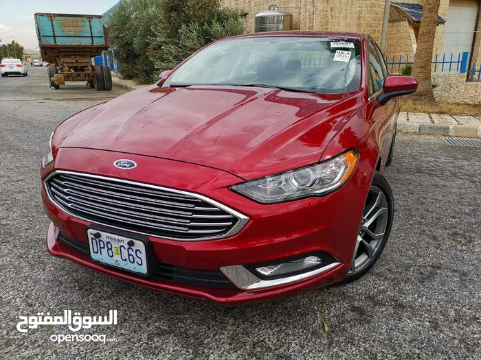 Ford Fusion 2017 For sale - Maroon color