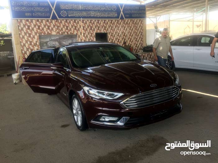 Brown Ford Fusion 2017 for sale