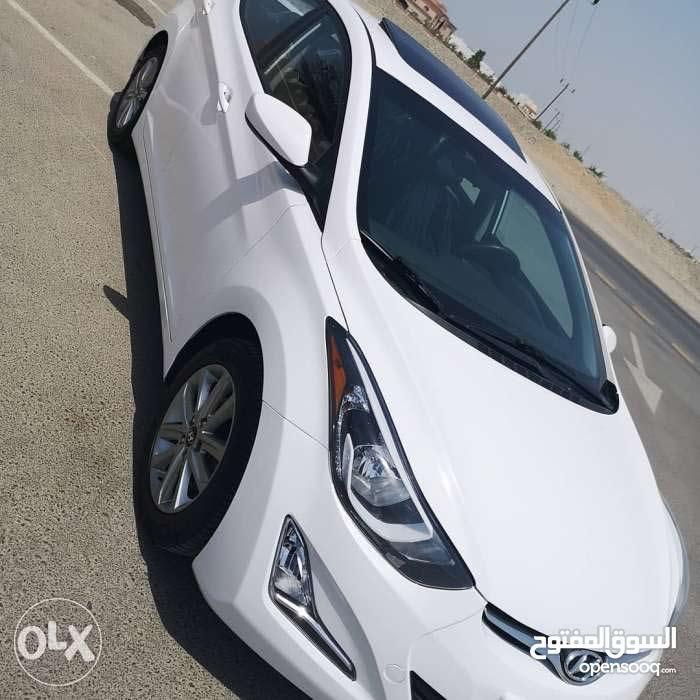 Used condition Hyundai Elantra 2015 with 1 - 9,999 km mileage