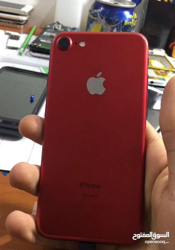 ايفون 7G 128G احمر