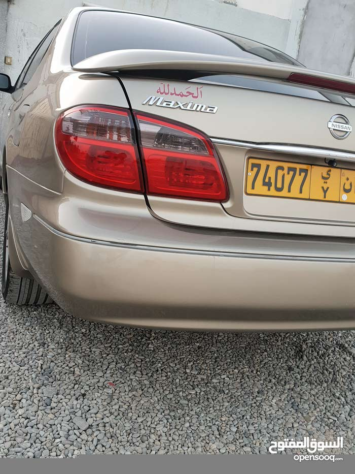 Gold Nissan Maxima 2004 for sale